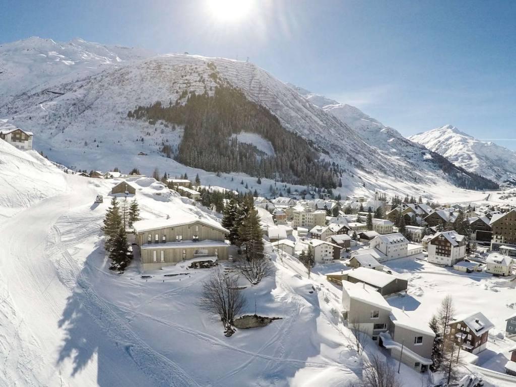 Winter an der Skipiste Unterkunft