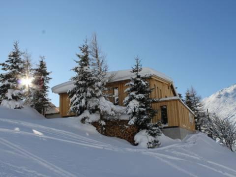 Hostel im Schnee