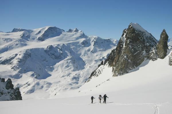 Skitour in der Schweiz am Steingletscher