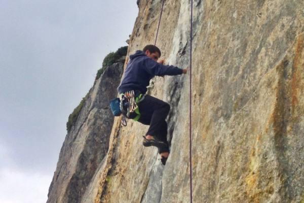 Kletter Touren in der Schweiz - Sommerurlaub