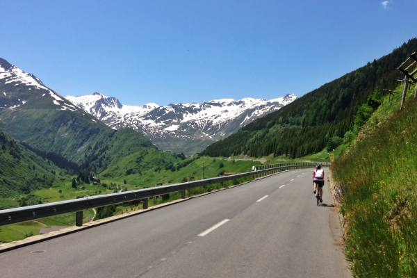 Andermatt - Oberalp Paß Rennrad