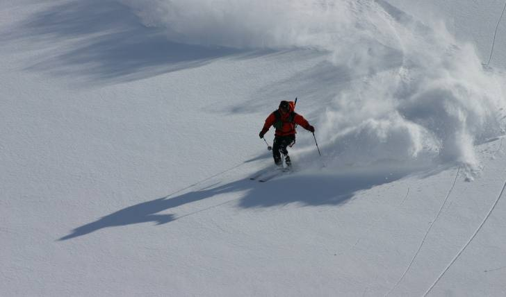 Freeride in Andermatt
