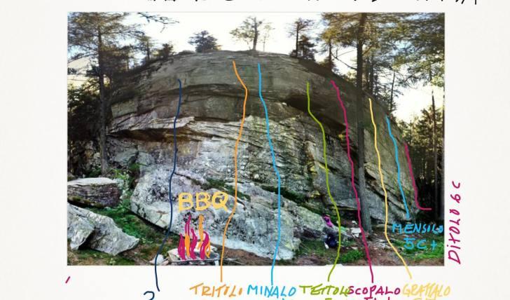 Kletterwand Tessin Umfgebung Andermatt