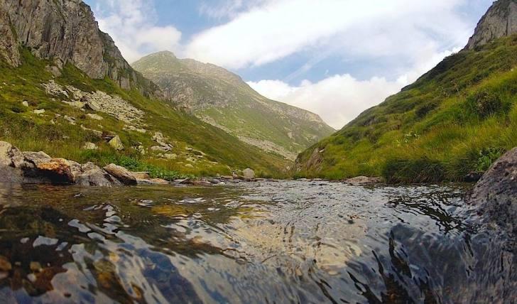 Wandern Gotthard Andermatt Hiking Unteralpreuss