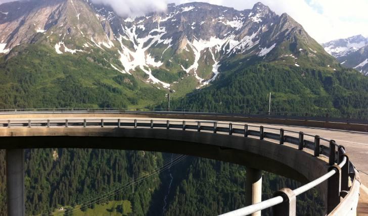 Pässe in der Schweiz mit Rennrad