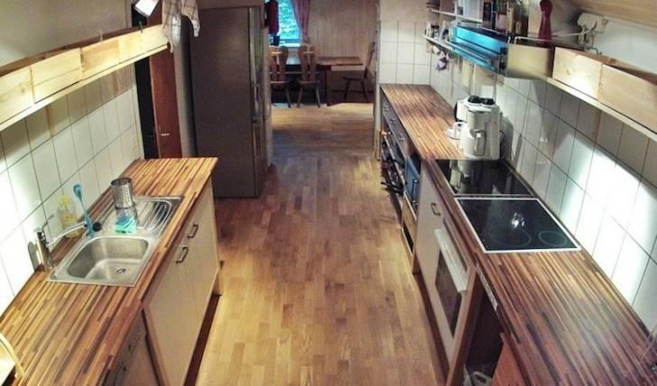 Berghütte Küche für Selbstversorger