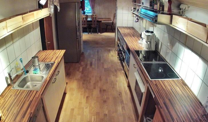 Ausstattung Küche Selbstversorger Berghütte Schweiz