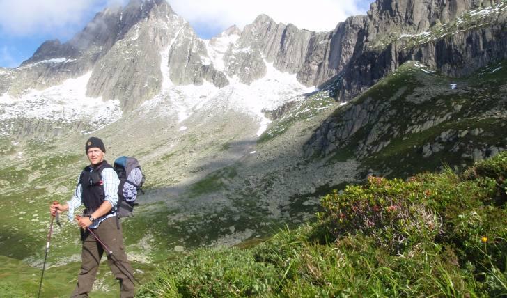 Wandern im Sommer in der Schweiz / Zentralschweiz